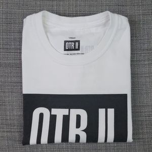 Beyoncé and Jay-Z OTR II tour t-shirt size L